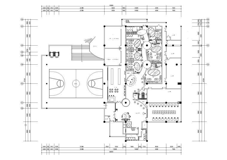 [贵州]高文安-贵阳新世界碧潭园会所施工图+设计方案+材料表