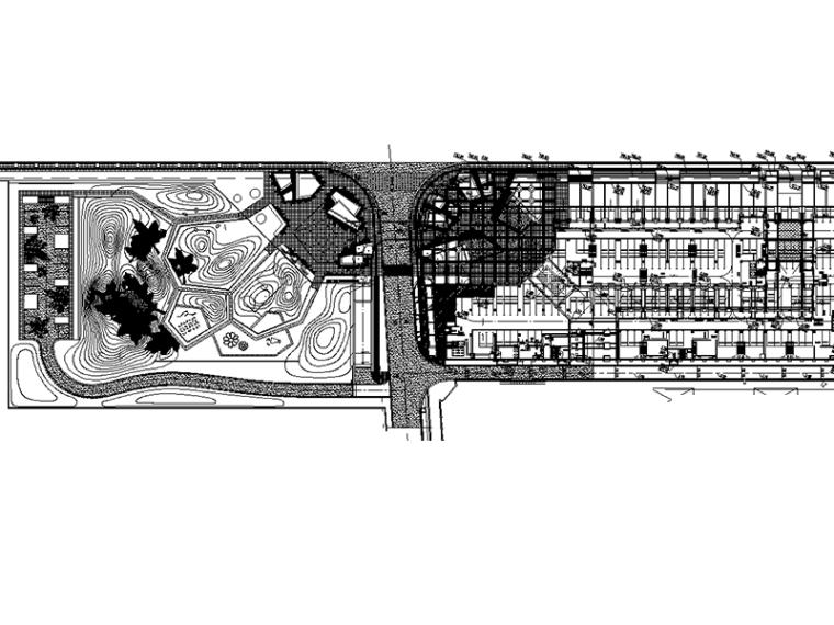 [江苏]苏南万科-新港天城公园里居住区展示区全套CAD施工图-张唐(含:水电结构+实景照片)