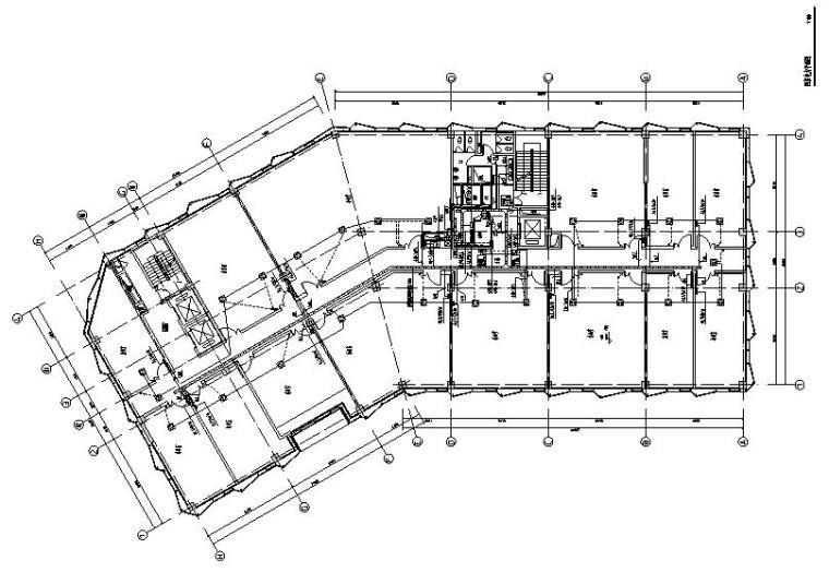 上海高层办公楼单体电气施工图纸(带计算书)