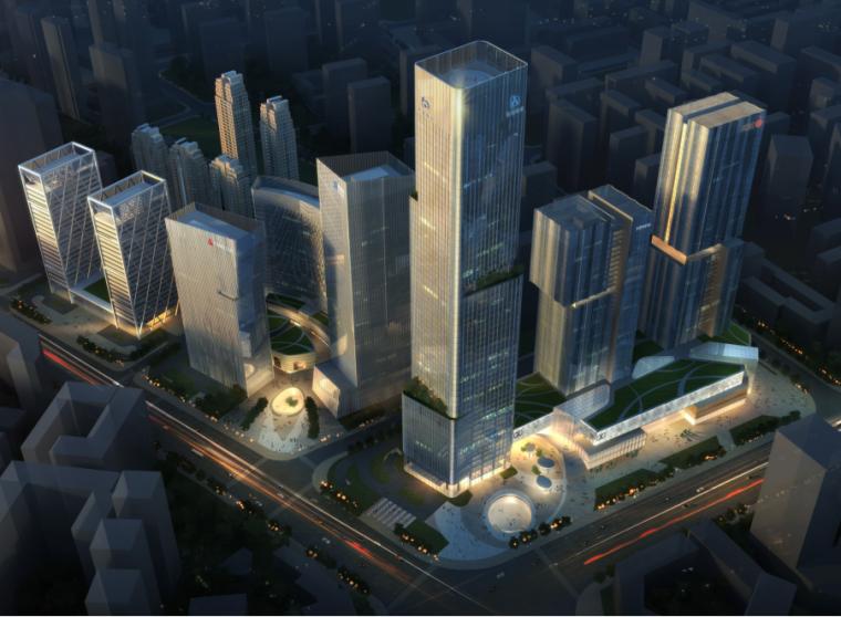 [云南]现代风格中央商务区建筑概念设计方案(JPDF+85)