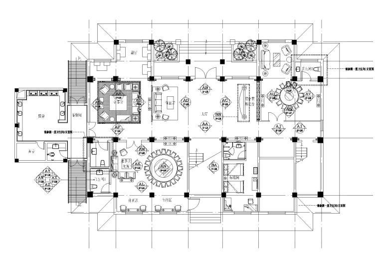 [甘肃]品冠-陇南大湾沟橄榄苑度假山庄CAD施工图+效果图