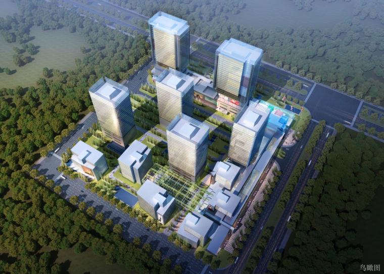 [北京]京西现代风格商务办公中心建筑方案文本(PDF+60页)
