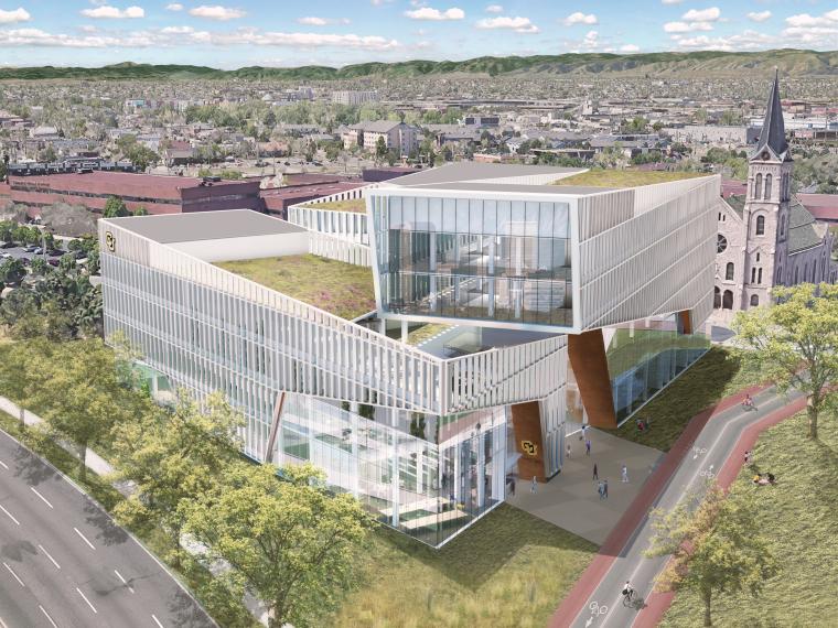 科罗拉多大学丹佛分校工程学院、设计与计算机大楼