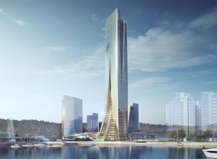 [山东]超高层建筑CBD办公建筑总体规划设计(PDF+226页)