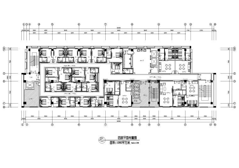 [江苏]名人建筑-宜兴水立方水疗会CAD施工图+效果图
