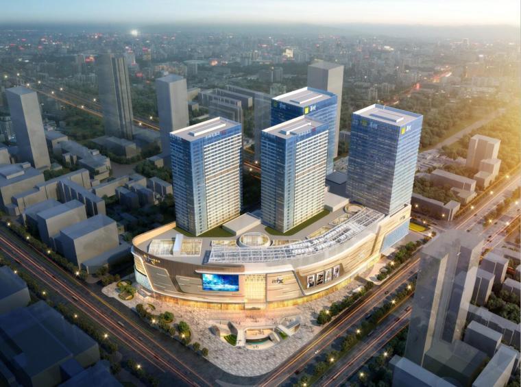 [河北]石家庄华润万象城商业建筑模型设计(现代风格)
