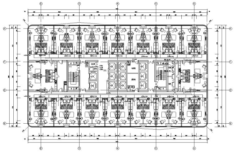 吉林长春大型商业综合体弱电智能化施工图纸(共17项弱电系统)