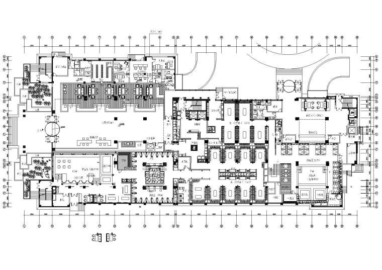 [浙江]中海外设计-杭州海纳百川休闲中心施工图+效果图
