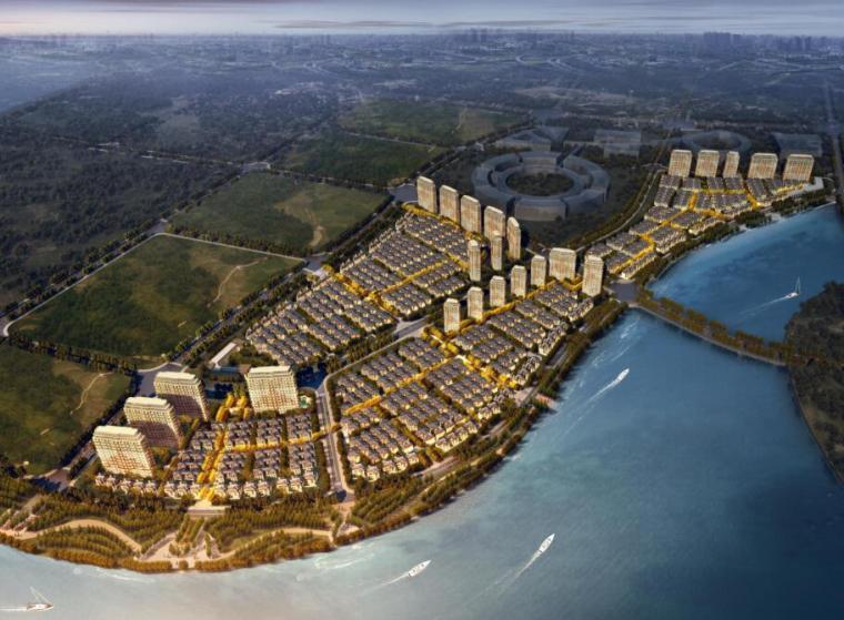 [山东]新中式风格豪宅居住区建筑方案文本(天华设计|PDF+254页)