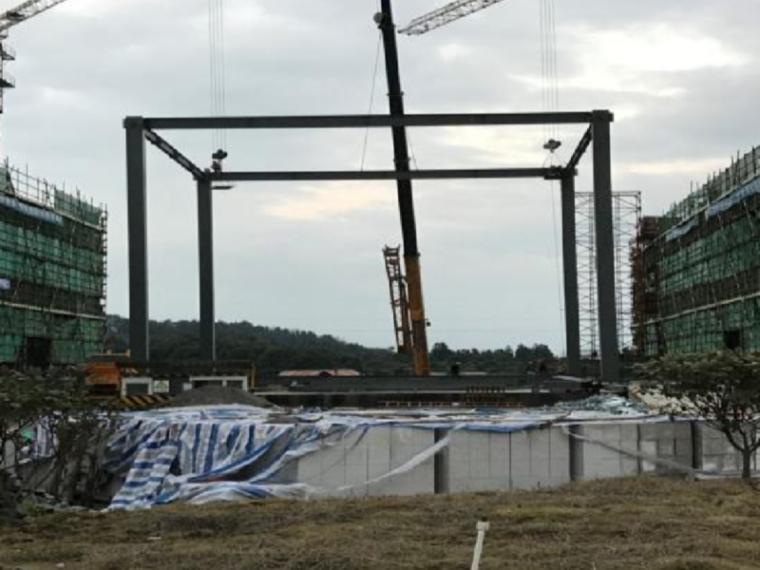 [QC成果]提高钢结构吊装施工进度
