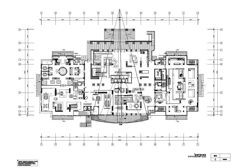 [江苏]東倉-创意亚洲室内装饰工程一标段施工图+效果图