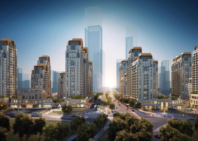 [上海]泛海董家渡欧陆风格豪宅项目汇报版-下册(PPT+101页)