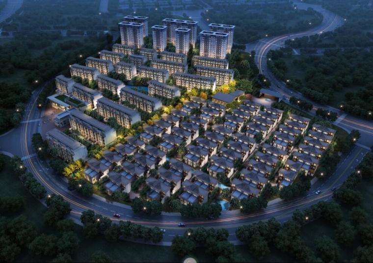 [陕西]新式风格居住区别墅地块概念规划文本(天华设计|PDF+159页)