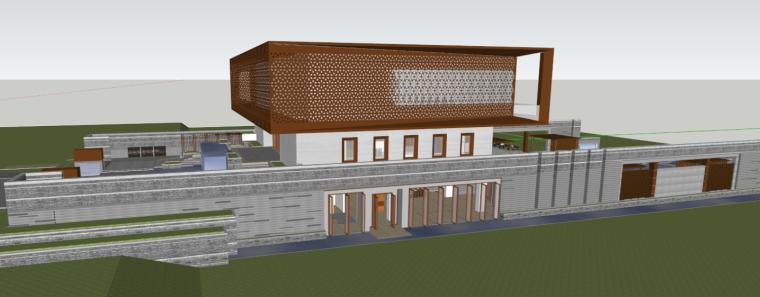 [海南]海口首开美墅湾艺术馆示范区建筑模型设计