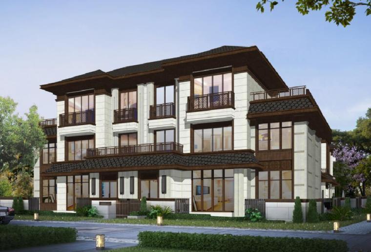 [陕西]新式风格轻奢豪宅概念规划文本(筑博设计|PDF+121页)