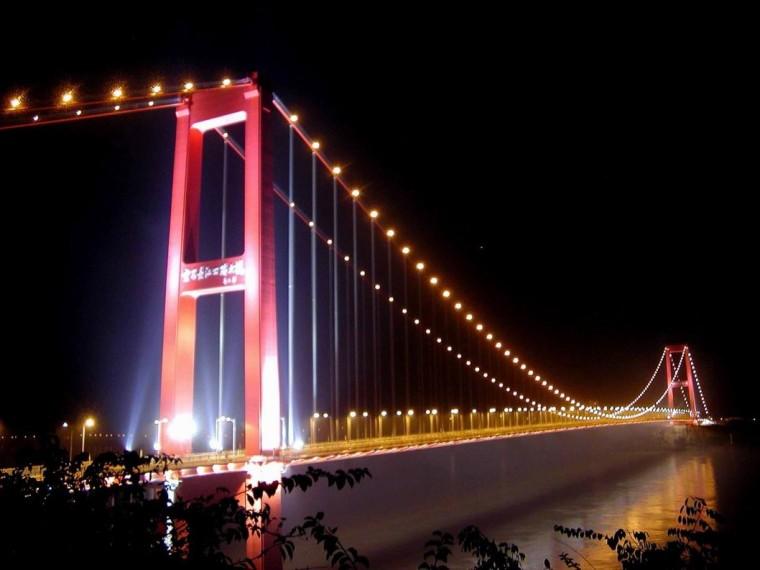 各国大跨径悬索桥建设风格及成桥线形计算方法(图文并茂)
