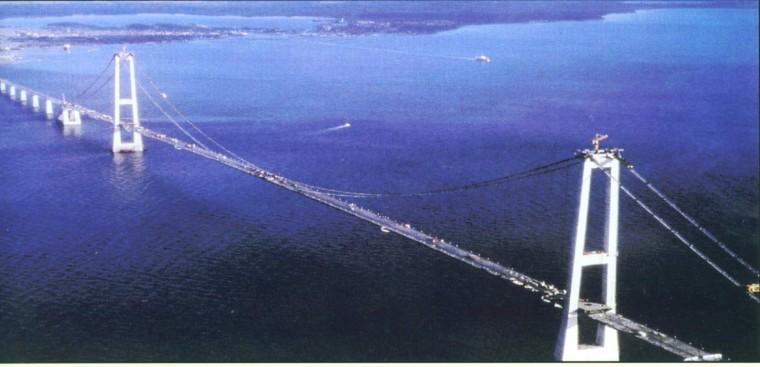 悬索桥及斜拉桥的分类、构造、受力特点及设计要点