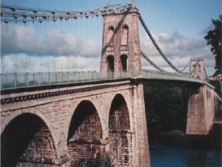 悬索桥总体设计、构造与施工技术