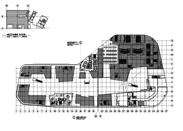 [浙江]HBA-杭州滨江宝龙艺珺艺术酒店全套CAD施工图+官方摄影+物料书