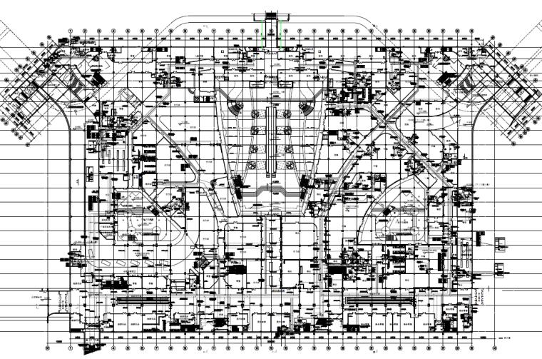 湖南大型交通枢纽及配套建筑电气及弱电智能化施工图