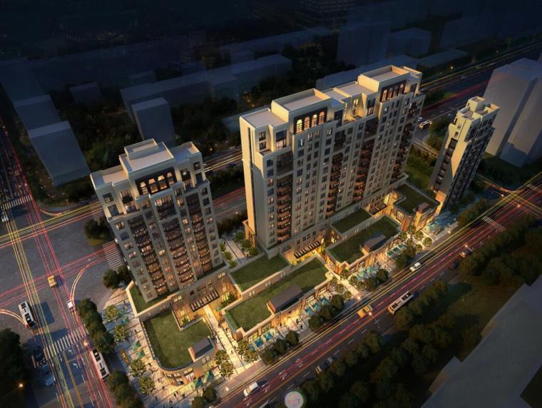 [北京]太平庄新古典风格住宅建筑方案文本(水石设计|PPT+116页)