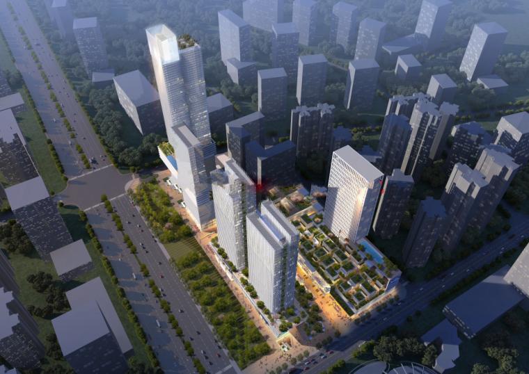 [四川]金科成都天府城综合体投标方案建筑设计