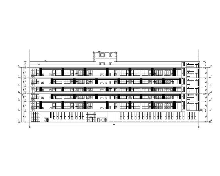 框架结构厂房局部加固补强全套施工图(2015)