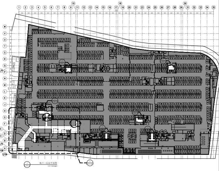 AGC设计-上海U-FUN购物公园室内装修施工图+效果图+灯光图+物料书