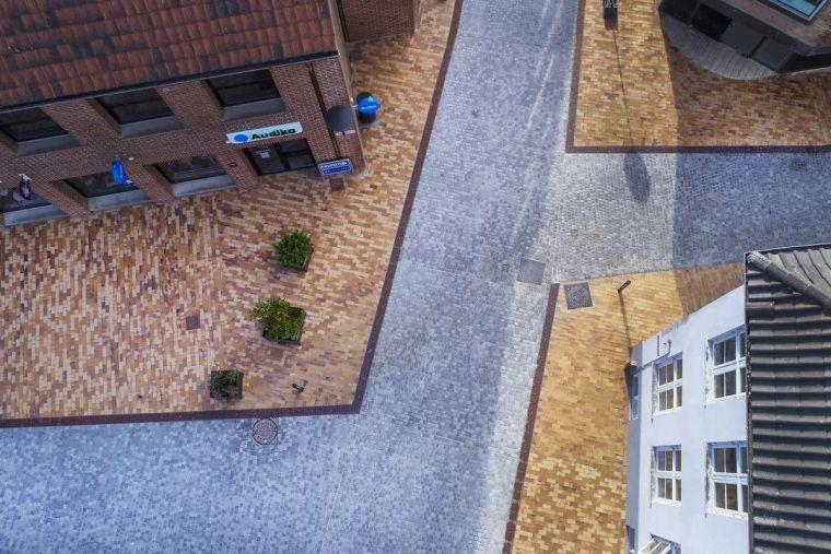 城市的统一性-奥本罗历史街区改造,丹麦/ADEPT