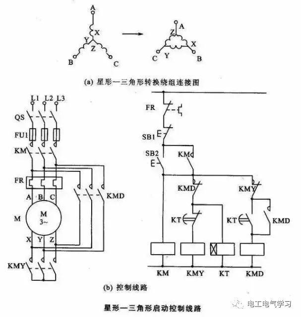 [电气分享]15个常见的电工中级电路图,会操作12个才算得上是电工_11