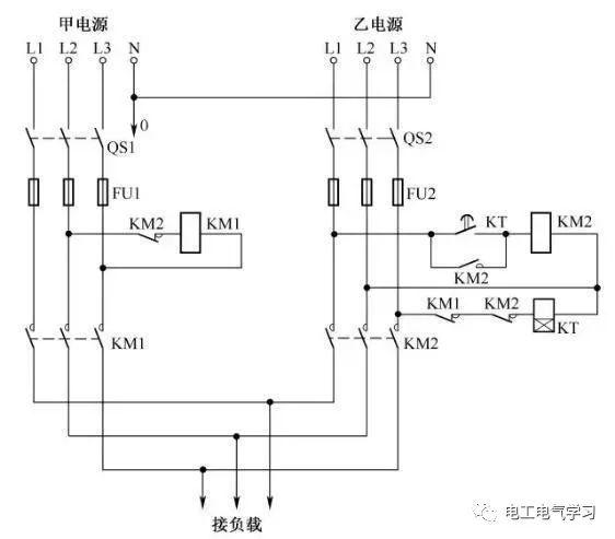 [电气分享]15个常见的电工中级电路图,会操作12个才算得上是电工_2