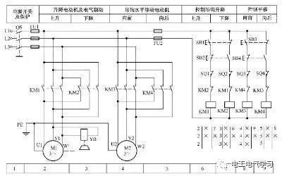 [电气分享]15个常见的电工中级电路图,会操作12个才算得上是电工_14