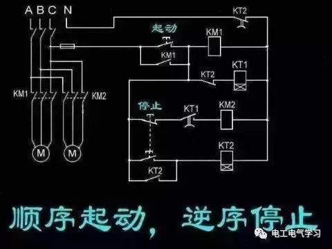 [电气分享]15个常见的电工中级电路图,会操作12个才算得上是电工_5