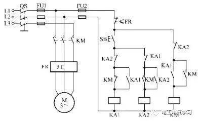 [电气分享]15个常见的电工中级电路图,会操作12个才算得上是电工_3