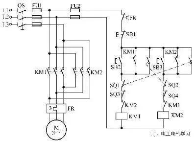 [电气分享]15个常见的电工中级电路图,会操作12个才算得上是电工_4