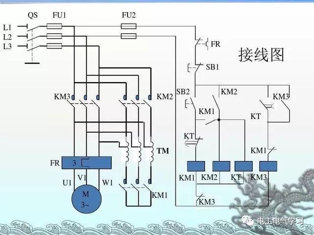 [电气分享]15个常见的电工中级电路图,会操作12个才算得上是电工_7