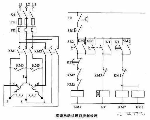 [电气分享]15个常见的电工中级电路图,会操作12个才算得上是电工_10