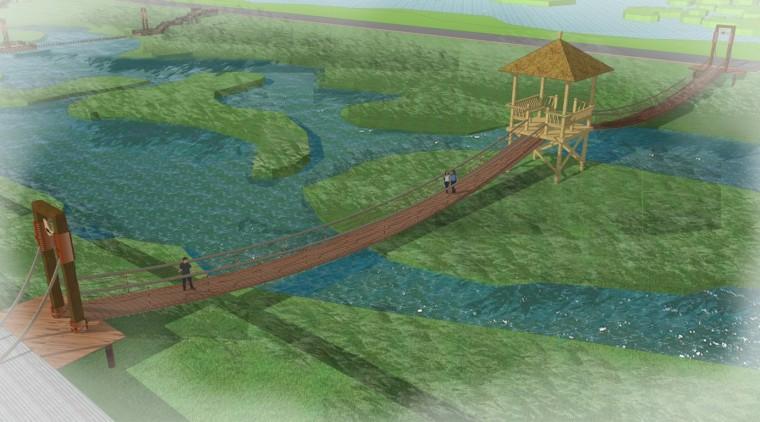 旅游景点吊桥规划设计方案初稿