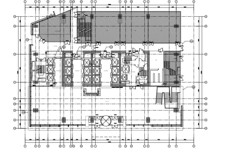 [安徽]合肥悦方中心办公楼+商场丨室内装修施工图+PPT方案+效果图
