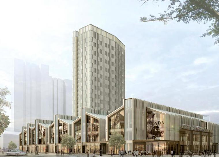 [上海]现代风格SOHO建筑概念设计文本(PDF+82页)