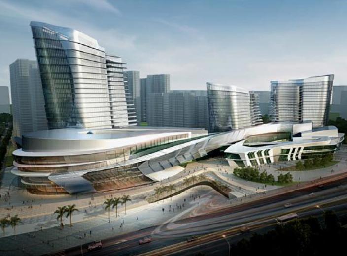 [江苏]徐州东宝地块商住项目建筑概念设计方案文本