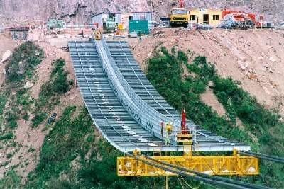 悬索桥施工猫道