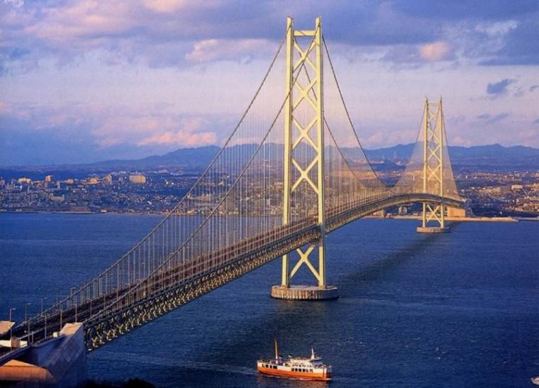 明石海峡大桥 日本