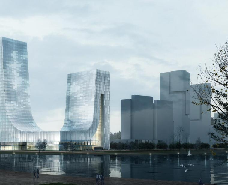 [江苏]科技金融中心现代风格建筑设计方案(PDF+95页)