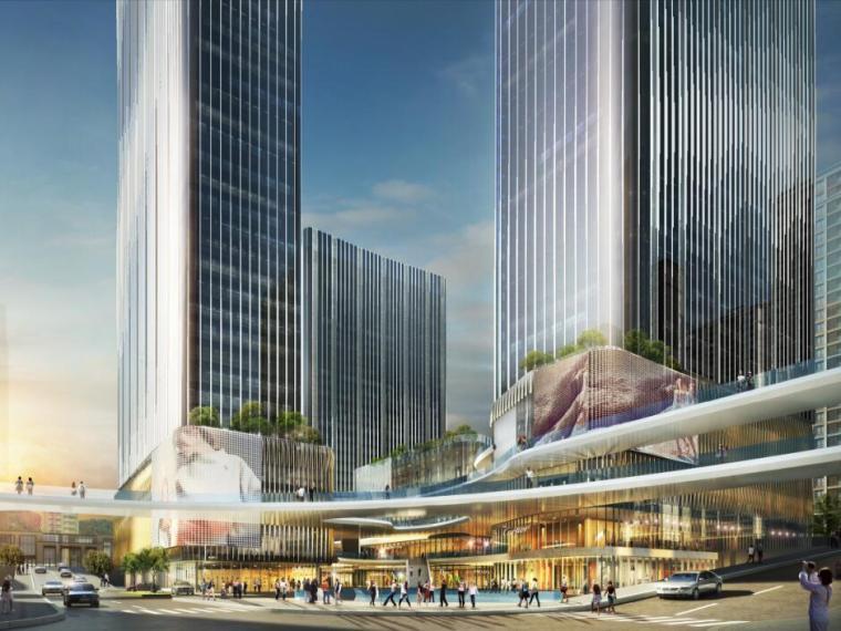 [山东]现代风格商业大型综合商场建筑方案文本(PDF+63页)