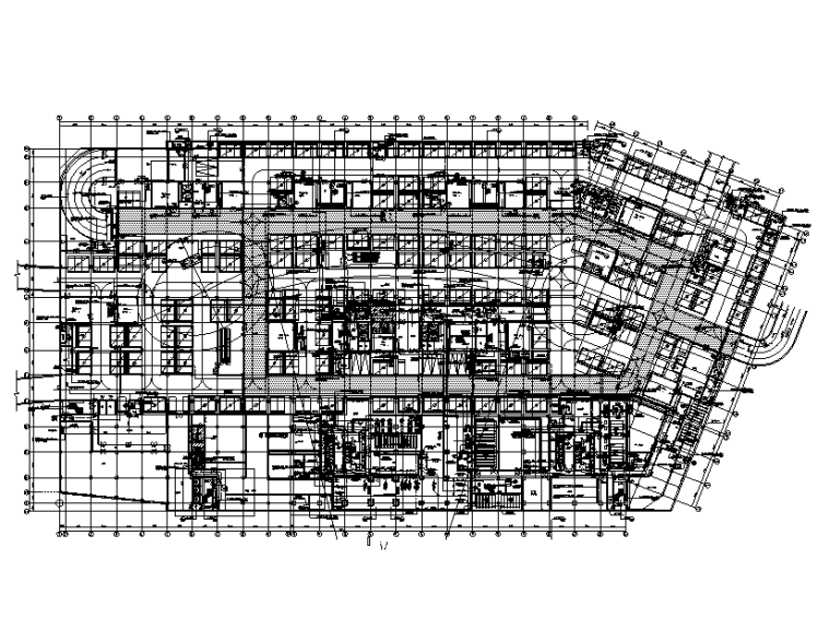 山东商业综合楼给排水设计施工图