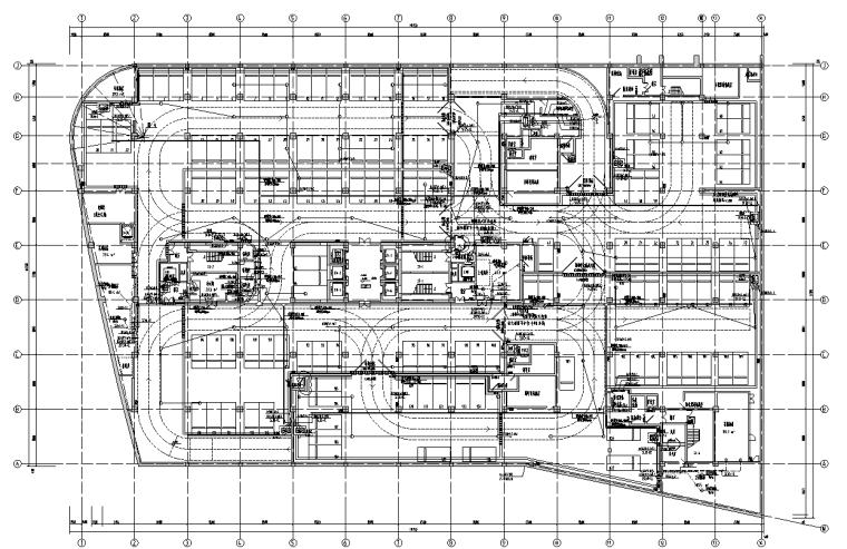 上海高层综合楼电气施工图(商业、办公、公寓式酒店)