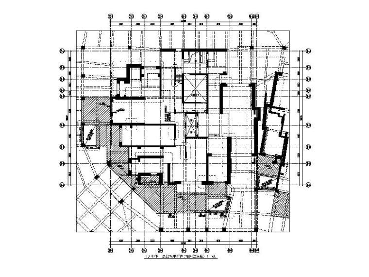 滨江凯旋门项目地下室加固改造工程施工图(2015)