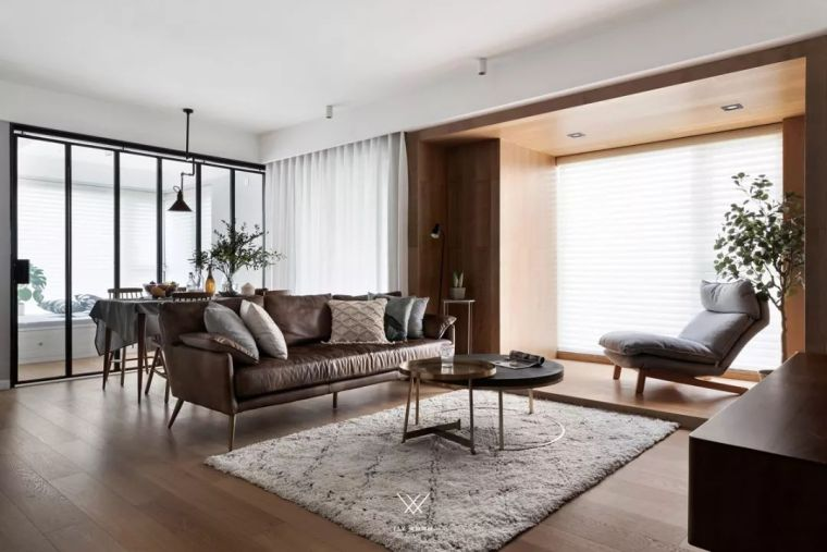 玻璃隔断+多功能房,高级感和强大储物功能都在他家了!