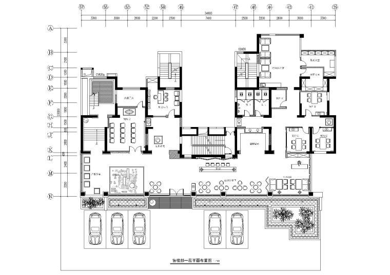 [河南]鼎和建筑-新乡翡翠城售楼处CAD施工图+效果图